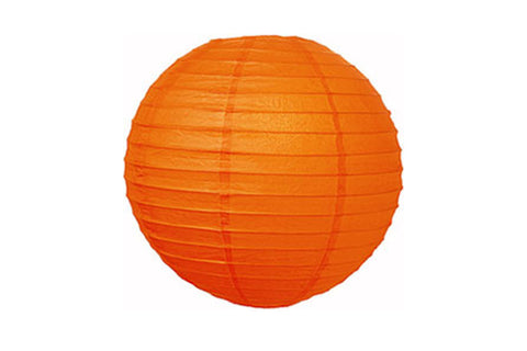 Orange Large Paper Lanterns - Pop Roc Parties
