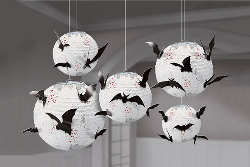 Halloween Bats Paper Lantern | Pop Roc Parties