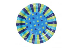Paper Eskimo Star Dream Paper Plates - Pop Roc Parties