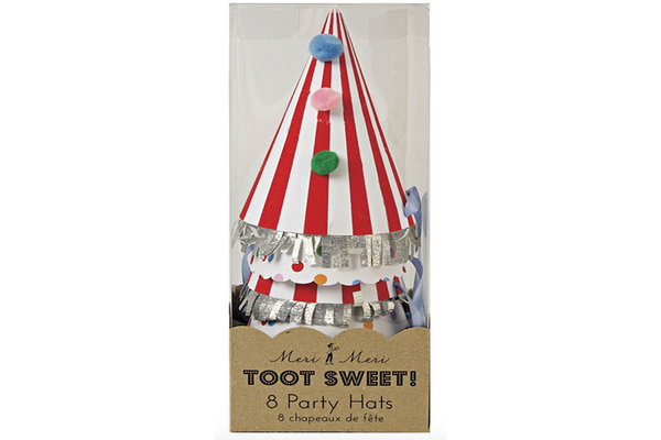 Toot Sweet Party Hats - Pop Roc Parties