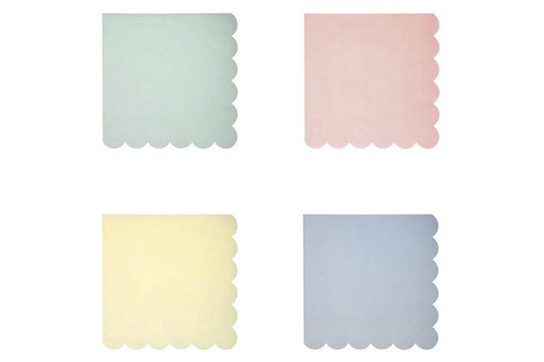 Meri Meri Pastel Party Small Napkins | Pop Roc Parties
