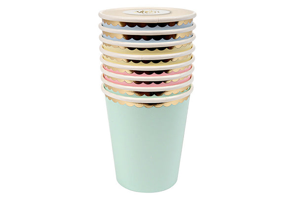 Meri Meri Pastel Party Cups - Pop Roc Parties