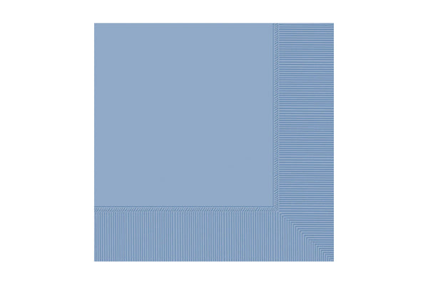 Pastel Blue Beverage Paper Napkins | Pop Roc Parties