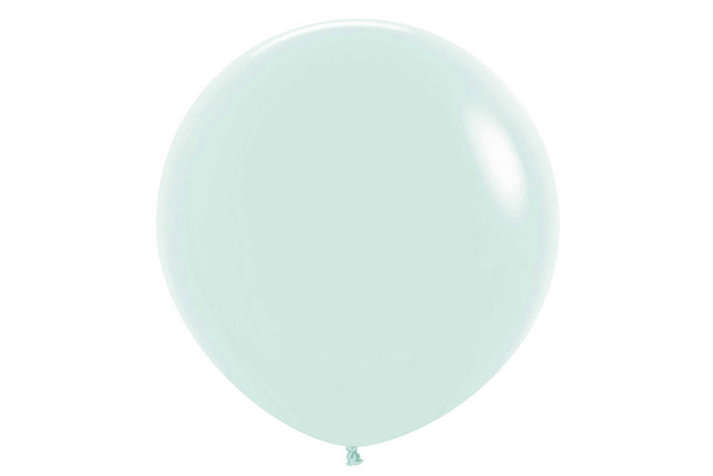 Pastel Matte Green Jumbo Balloon - 60cm | Pop Roc Parties