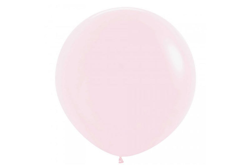 Pastel Matte Pink Jumbo Balloon - 60cm | Pop Roc Parties