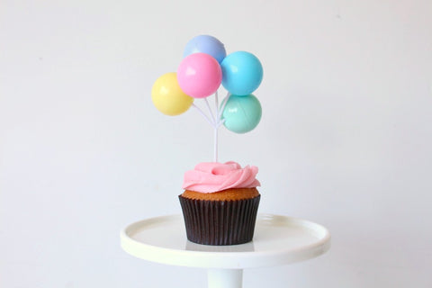 Pastel Balloon Toppers