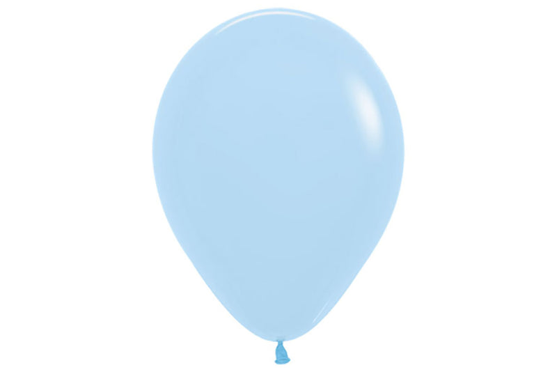 Matte Blue Pastel Balloon Pack-Pop Roc Parties