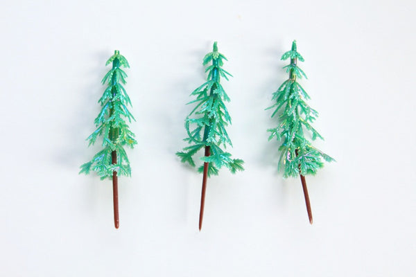Pearlised Pine Tree Toppers - Pop Roc Parties