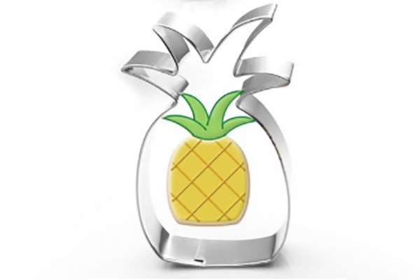 Pineapple Cookie Cutter | Pop Roc Parties