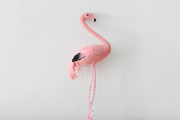 Feathered Flamingo Cake Topper - Pop Roc Parties