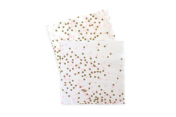 Pink Confetti Napkins | Pop Roc Parties