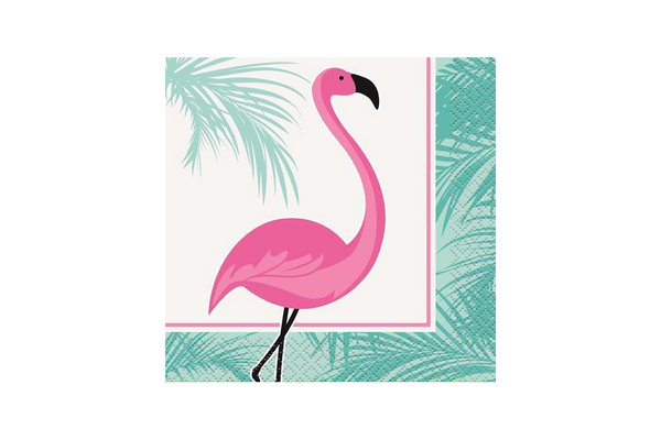 Pink Flamingo Napkins | Pop Roc Parties