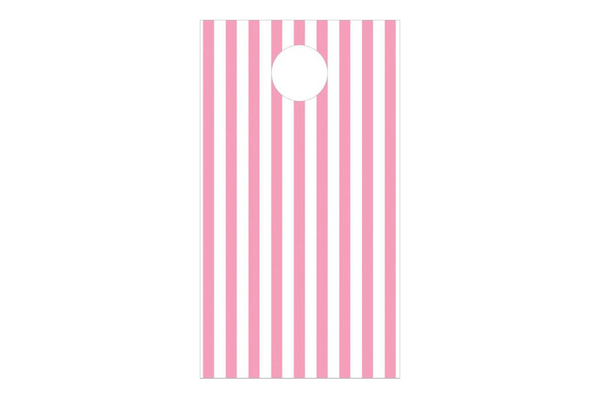 Pink Stripe Party Treat Bags