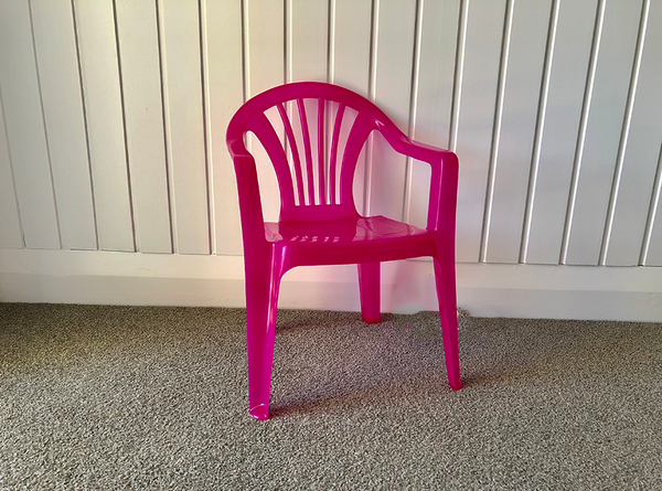 Pink Chair - Pop Roc Parties