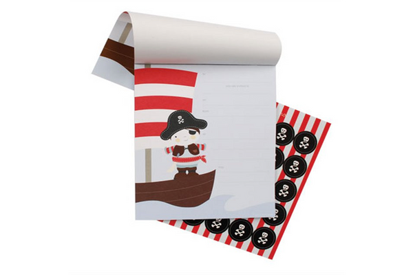 Pirate Invitations - Pop Roc Parties