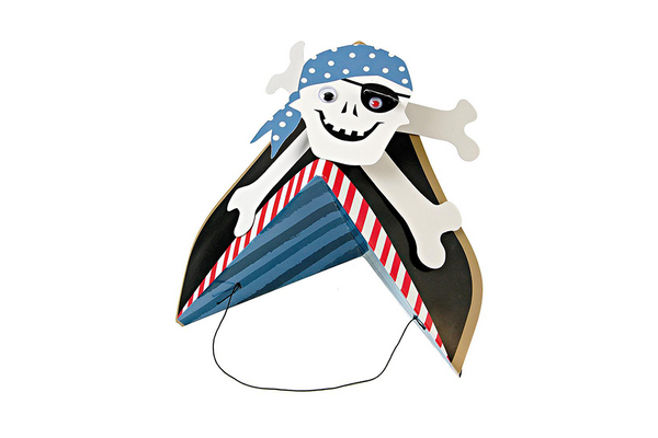 Ahoy There! Pirate Party Hats - Pop Roc Parties