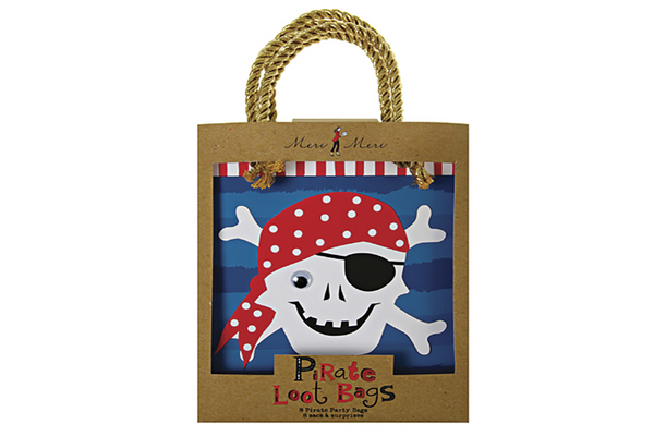 Ahoy There! Pirate Party Bags - Pop Roc Parties
