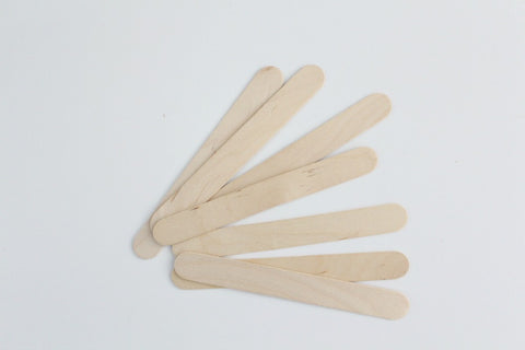 Plain Wooden Ice Block Sticks
