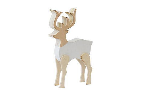 Scandi Wooden Deer