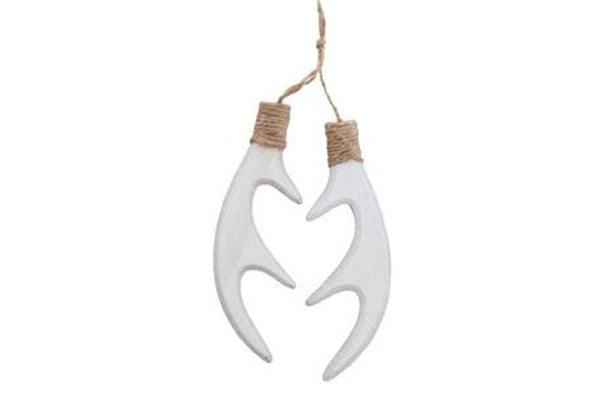 Wooden Antler Hanging Decorations - Pop Roc Parties