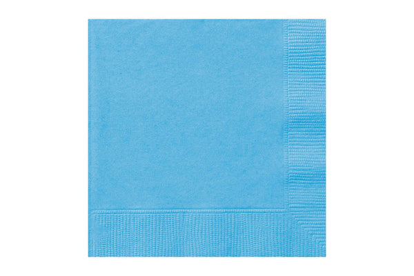Powder Blue Beverage Paper Napkins | Pop Roc Parties