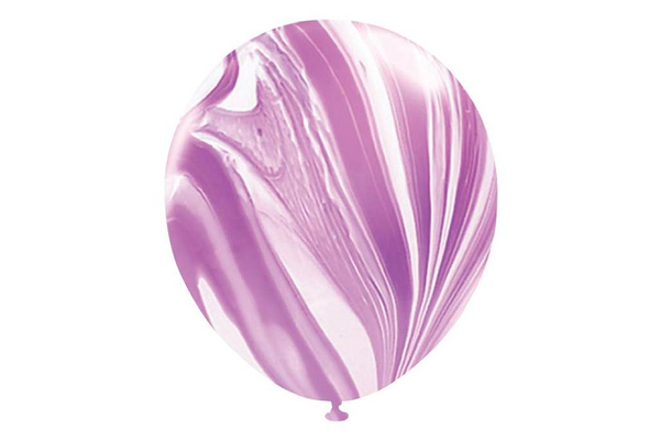 Purple Marble Balloons