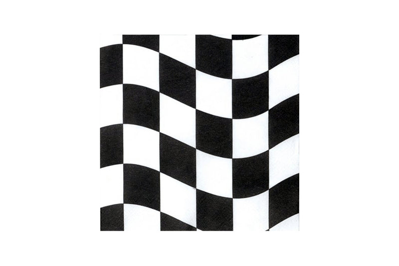 Racing Checkered Napkins | Pop Roc Parties
