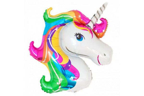 Unicorn Rainbow Foil Balloon - Pop Roc Parties
