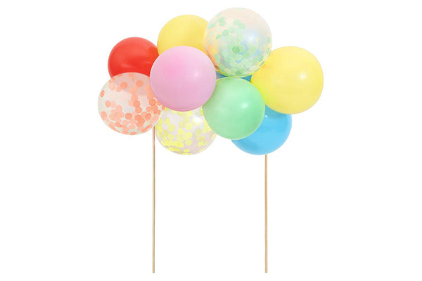 Rainbow Balloon Cake Topper Kit | Pop Roc Parties