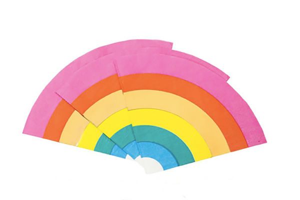 Birthday Brights Rainbow Napkins | Pop Roc Parties