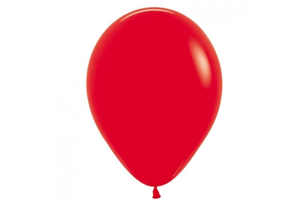 Mini Red Balloon - 12cm-Pop Roc Parties