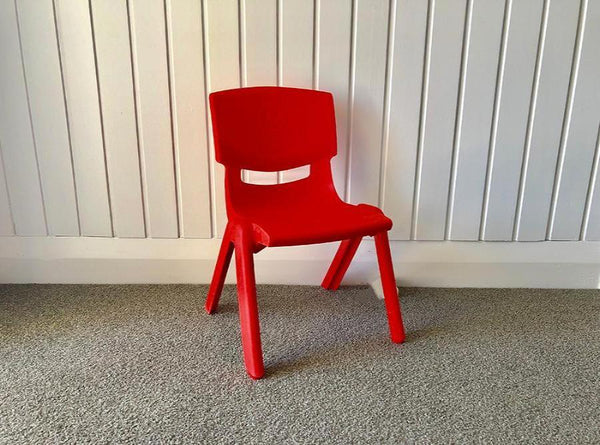 Red Chair - Pop Roc Parties