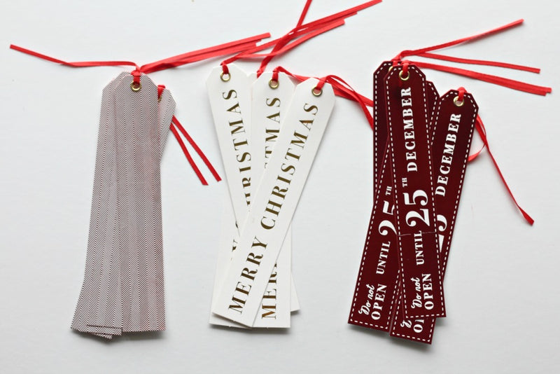 Christmas Luxury Gift Tags - Pop Roc Parties