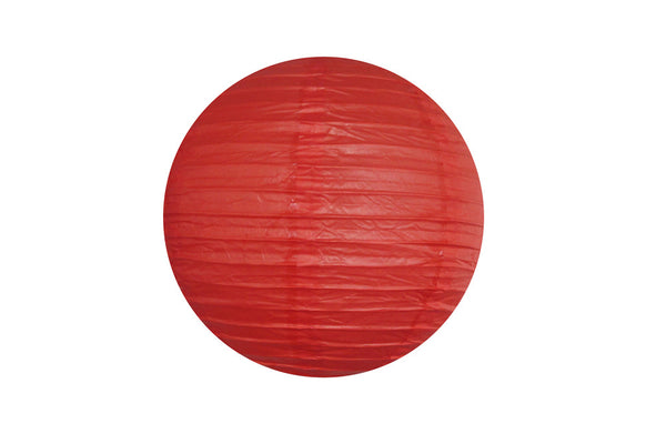 Red Large Paper Lanterns - Pop Roc Parties
