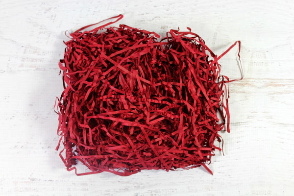 Ruby Red Shredded Paper - Pop Roc Parties