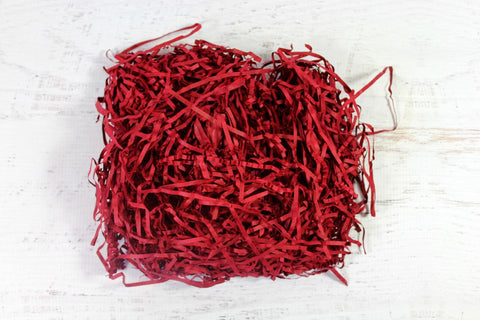 Ruby Red Shredded Paper