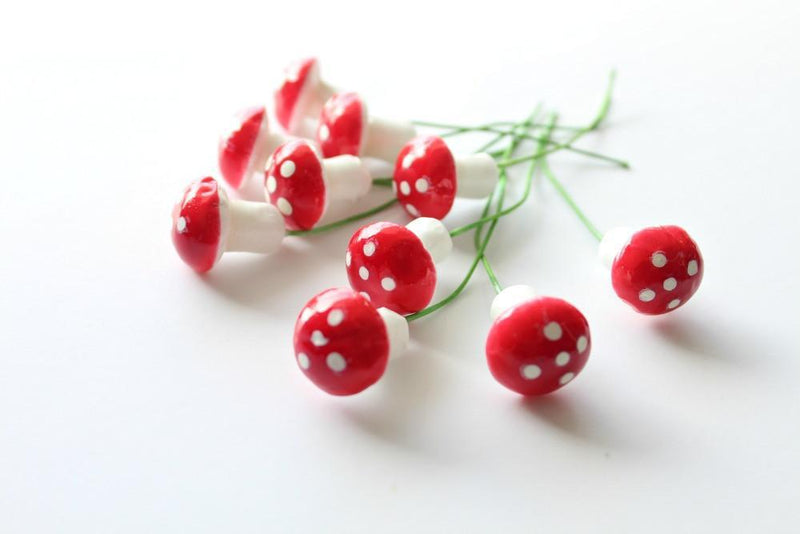 Mini Red Toadstool Bunch | Pop Roc Parties