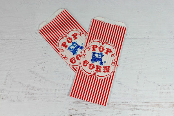 Blue Wagon Popcorn Bags - Pop Roc Parties