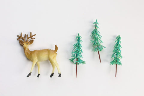 Pearlised Pine Tree Toppers