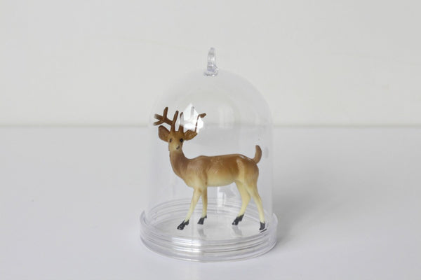 Clear Cloche Ornament - Pop Roc Parties