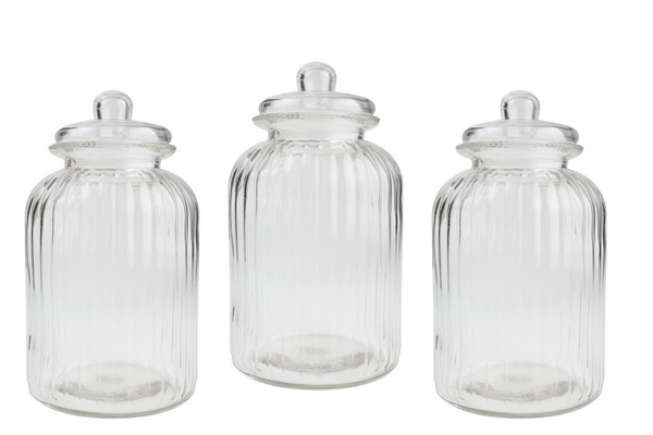 Retro Glass Lolly Jars (Med) - HIRE | Pop Roc Parties