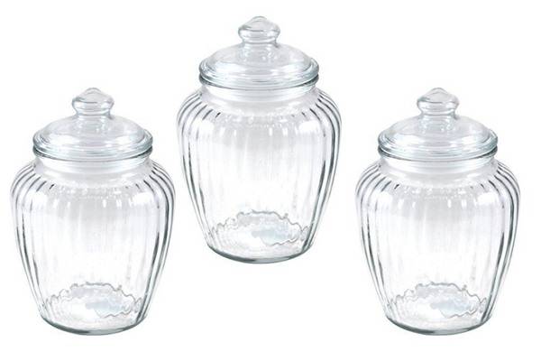 Retro Glass Lolly Jars (Lge) - HIRE | Pop Roc Parties