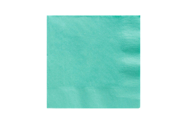 Robin's Egg Blue Beverage Paper Napkins | Pop Roc Parties
