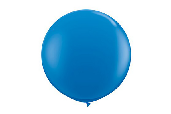 Royal Blue Jumbo Balloons - 60cm | Pop Roc Parties
