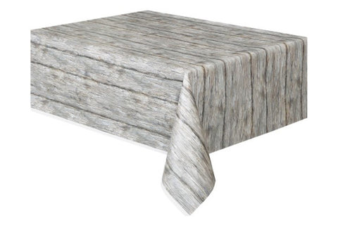 Wood Grain Table Cover