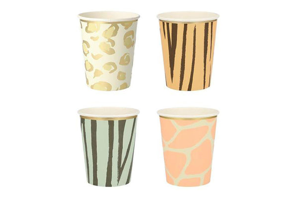 Safari Animal Print Party Cups | Pop Roc Parties