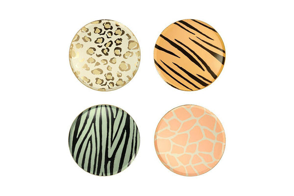 Safari Animal Print Plates | Pop Roc Parties