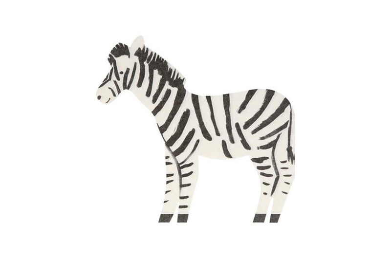 Safari Zebra Napkins | Pop Roc Parties
