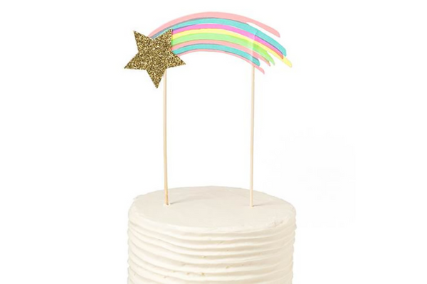 Shooting Star Cake Topper | Pop Roc Parties