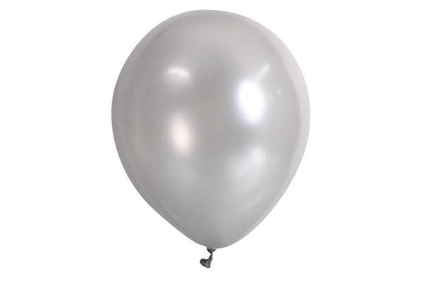 Silver Balloon Pack - Pop Roc Parties